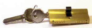 Brass Cylinder Keys